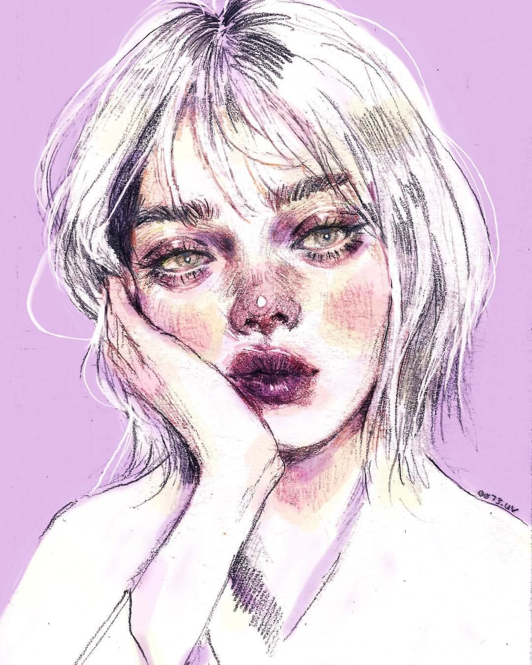 Aesthetic Girl Art Tumblr