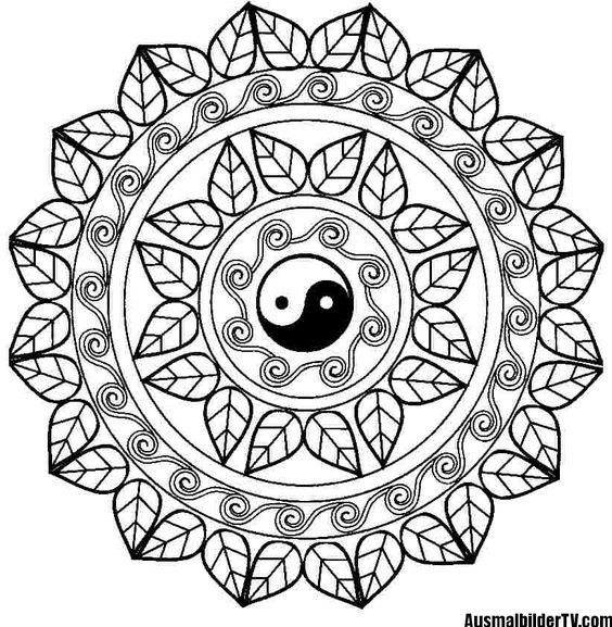 mandalas all art Pinterest Mandala Mandala coloring and