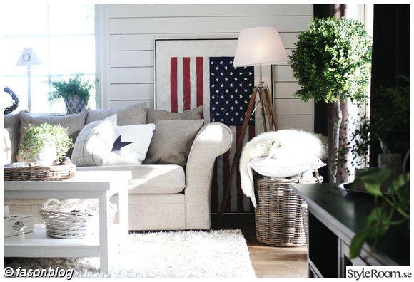 звезды и полосы, американский флаг, тренога, горизонтальная панель, Новая Англия, ротанг, Artwood