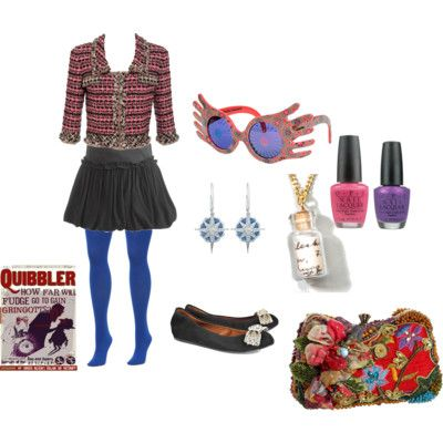 Character Inspired Outfits a challenge | Fashion | Pinterest | Luna lovegood Character inspired ...