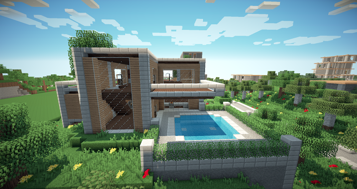 Architecture Houses Minecraft modern house pack [5 houses] minecraft project | minecraft