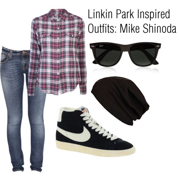 mike shinoda fashion | fashion look from September 2012 featuring IRO tops,  Nudie Jeans Co