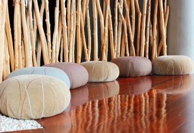 DIY Home Decor Bamboo Web Design