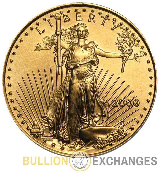 2000 1 4 Oz Gold American Eagle Bu American Eagle Gold Coin Gold Eagle Coins Eagle Coin