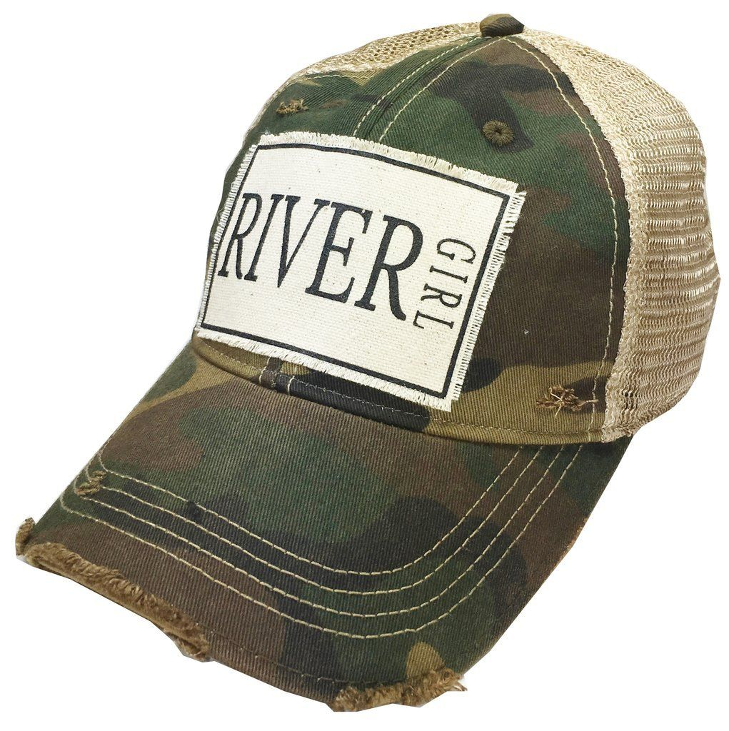 69879da26f3 River Girl Camo Baseball Cap Caps For Women, Baseball Cap, Trendy Fashion,  Girl