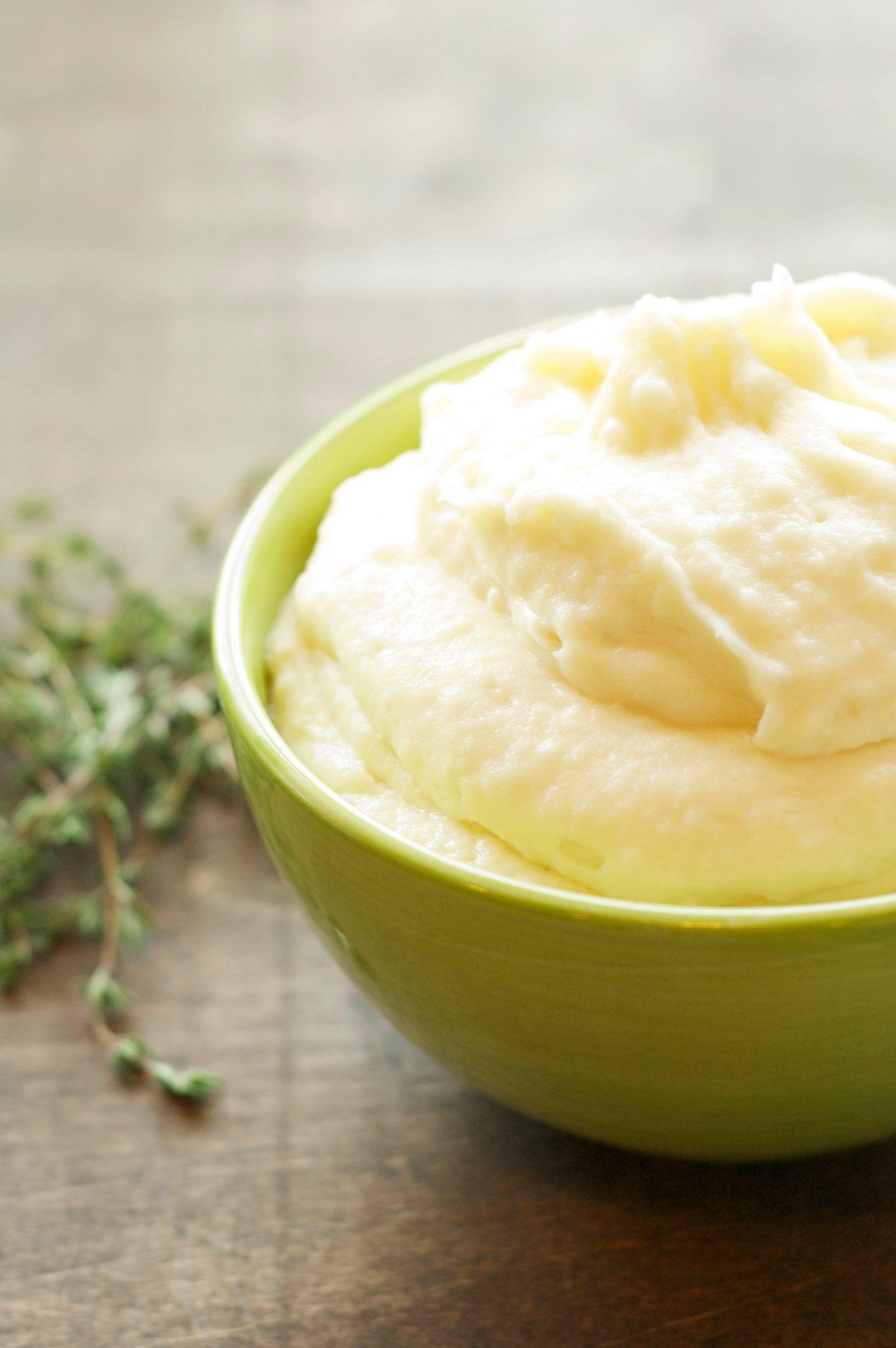 Slow Cooker Creamy Garlic Mashed Potatoes – Helprecipes