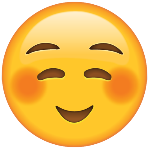 Shyly Smiling Face Emoji | Emoji faces, Emoji pictures, Emoji love