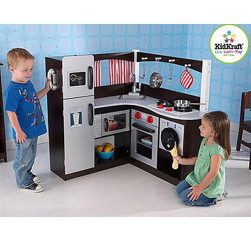 Toys Kidkraft Corner Kitchen Kids Play Kitchen Play Kitchen