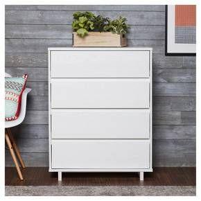 Modern 4 Drawer Dresser White Room Essentials Room Essentials 4 Drawer Dresser Dresser Drawers