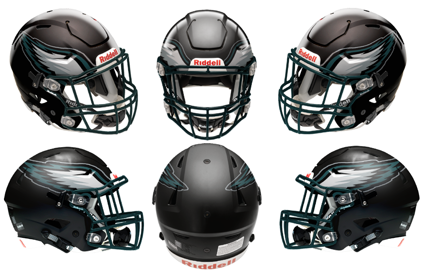 Eagles 3 Speedflex 6 View Zpsaq1tdeuv Png 858 555 Helmet Concept Football Helmets Helmet