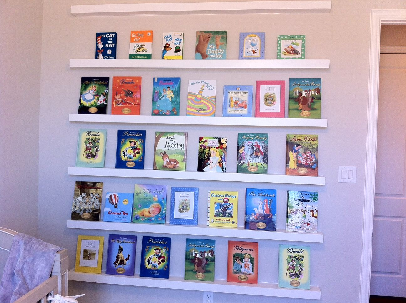 Baby Nursery Chic Room Decoration With Simple White Wall Shelves As Book Shelf Combine Classic Crib Why You Need Bookshelf For