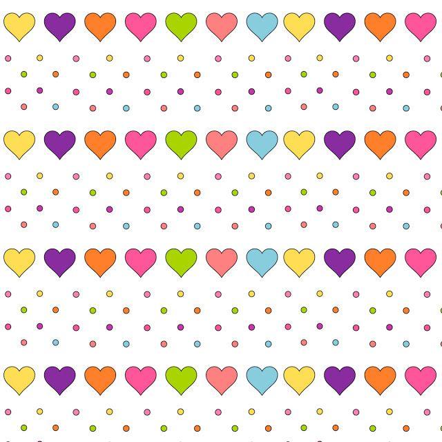 Free Digital Heart Scrapbooking Paper Ausdruckbares Geschenkpapier Freebie Meinlilapark Papierherzen Musterpapier Bastelprojekte Mit Papier
