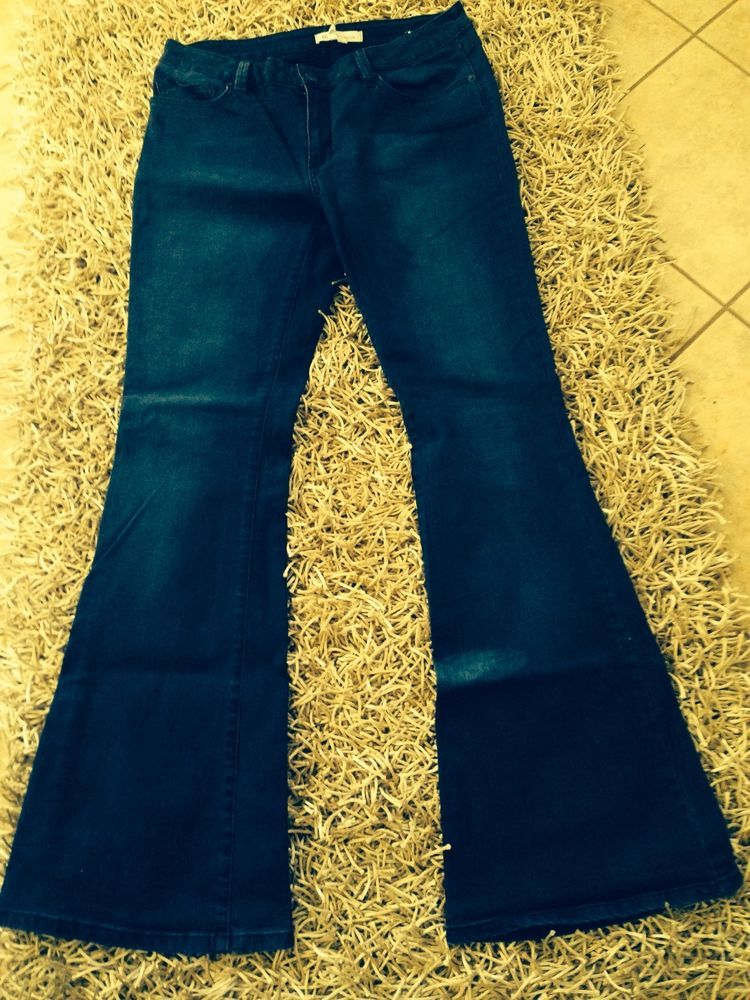 BCBGENERATION Jacob Flare Dark Wash Jeans Size 30
