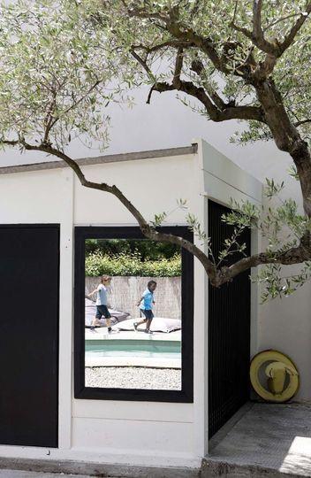Maison moderne en Provence  le bon exemple Salons - exemple de maison moderne