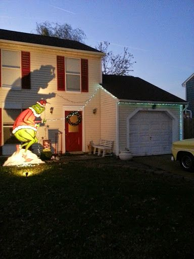 grinch stealing christmas lights grinch yard decorations christmas decorations grinch stealing lights christmas - Grinch Christmas Lights Outdoor