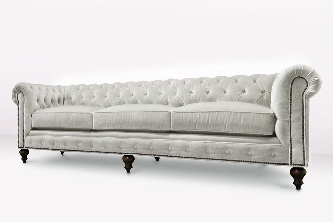The Fitzgerald Custom Classic Chesterfield Sofas More With Images Classic Chesterfield Sofa Chesterfield Style Sofa Chesterfield Sofa