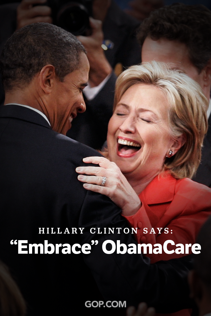 Proving she'll lead just like Obama.   Standing against Hillary? Take the survey & tell us why.