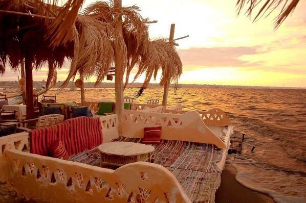 Egypt- El Mandara Sustainable Eco-Lodge, Lake Qarun, Fayoum
