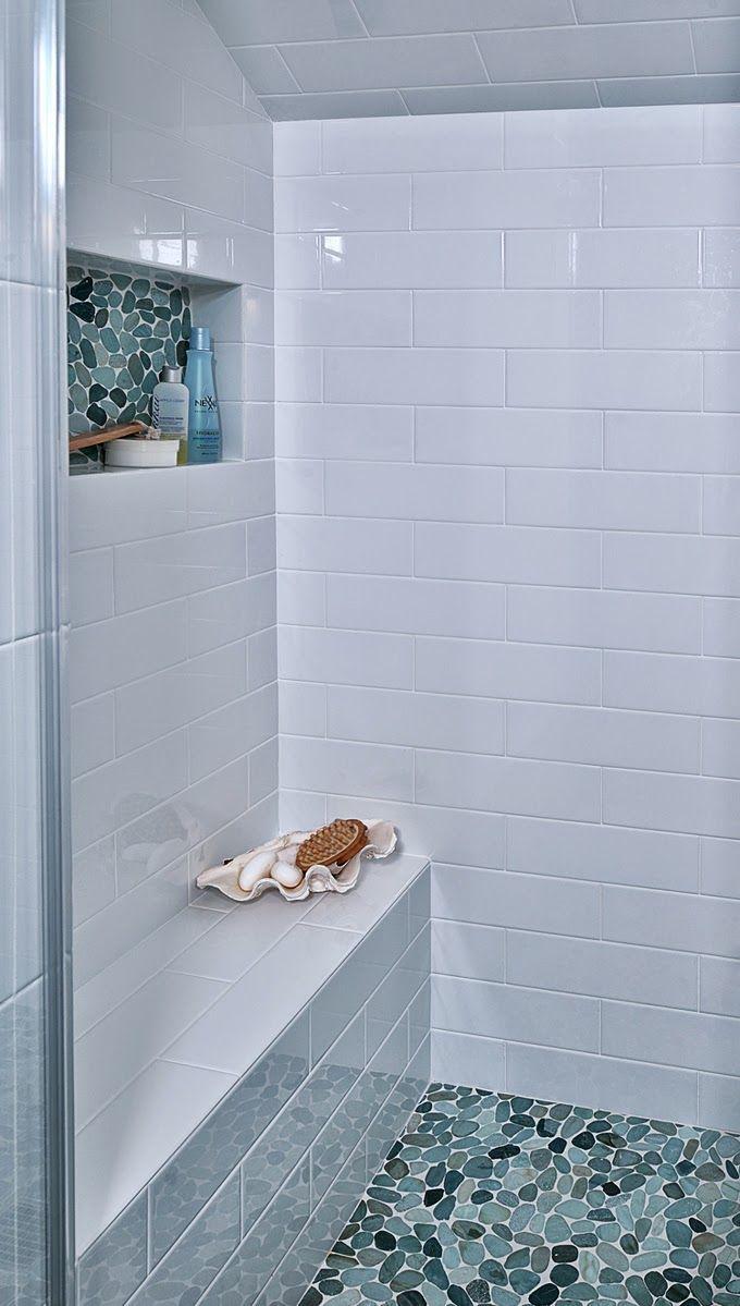Een kiezelvloer leggen | Badkamer | Pinterest - Badkamer