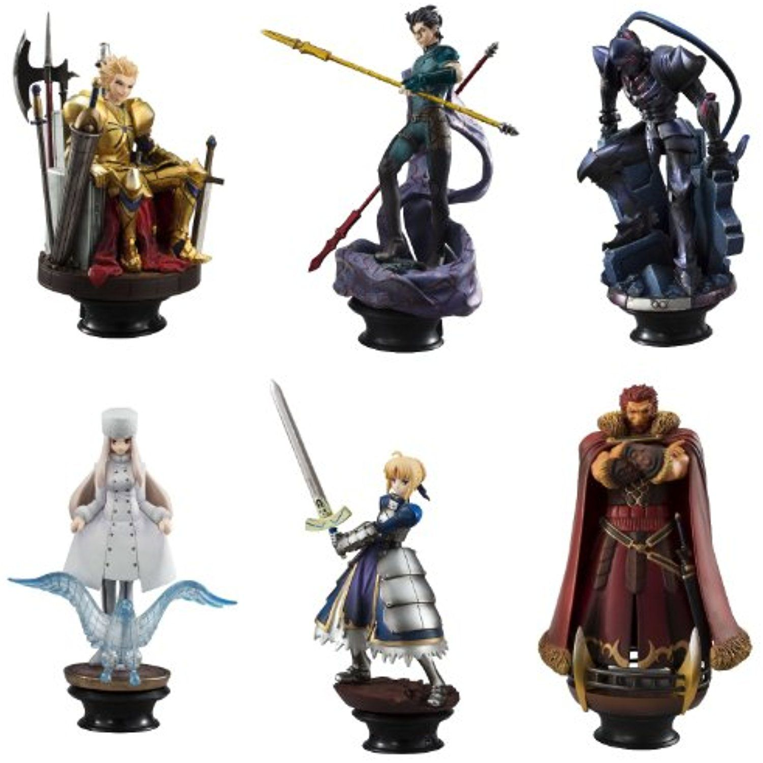 Chess Piece Collection R Fate Zero 6pcs Pvc Figure By Megahouse Click Image To Review More De S This Is An Affiliate Link