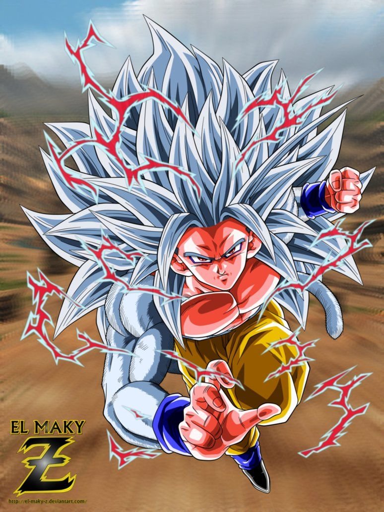 Dbaf Son Goku Super Saiyan 5 By El Maky Z Deviantart Com On
