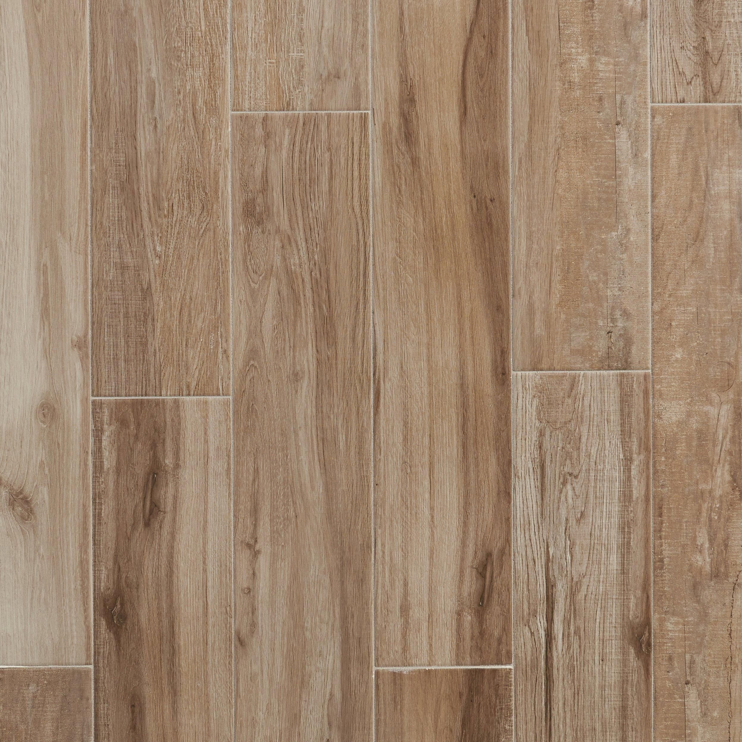 Bryce Canyon Timber Wood Plank Ceramic Tile Living Room