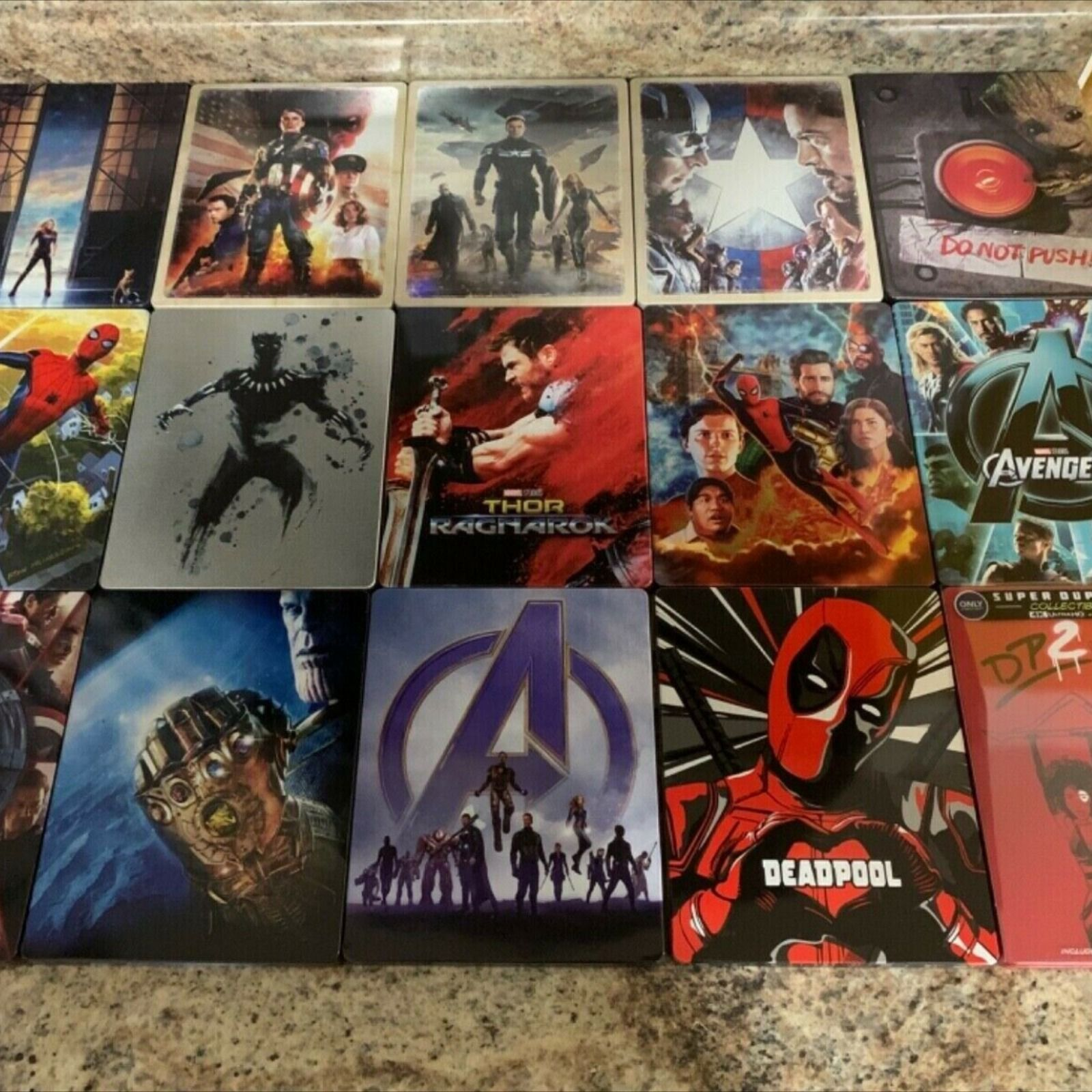 #Marvel #MarvelStudios #MarvelCinematicUniverse #MCU #4K #UHD #BluRay #Steelbook #Collection