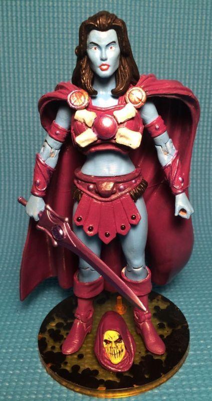 Lady Skeletor - Keldora (Masters of the Universe) Custom Action Figure