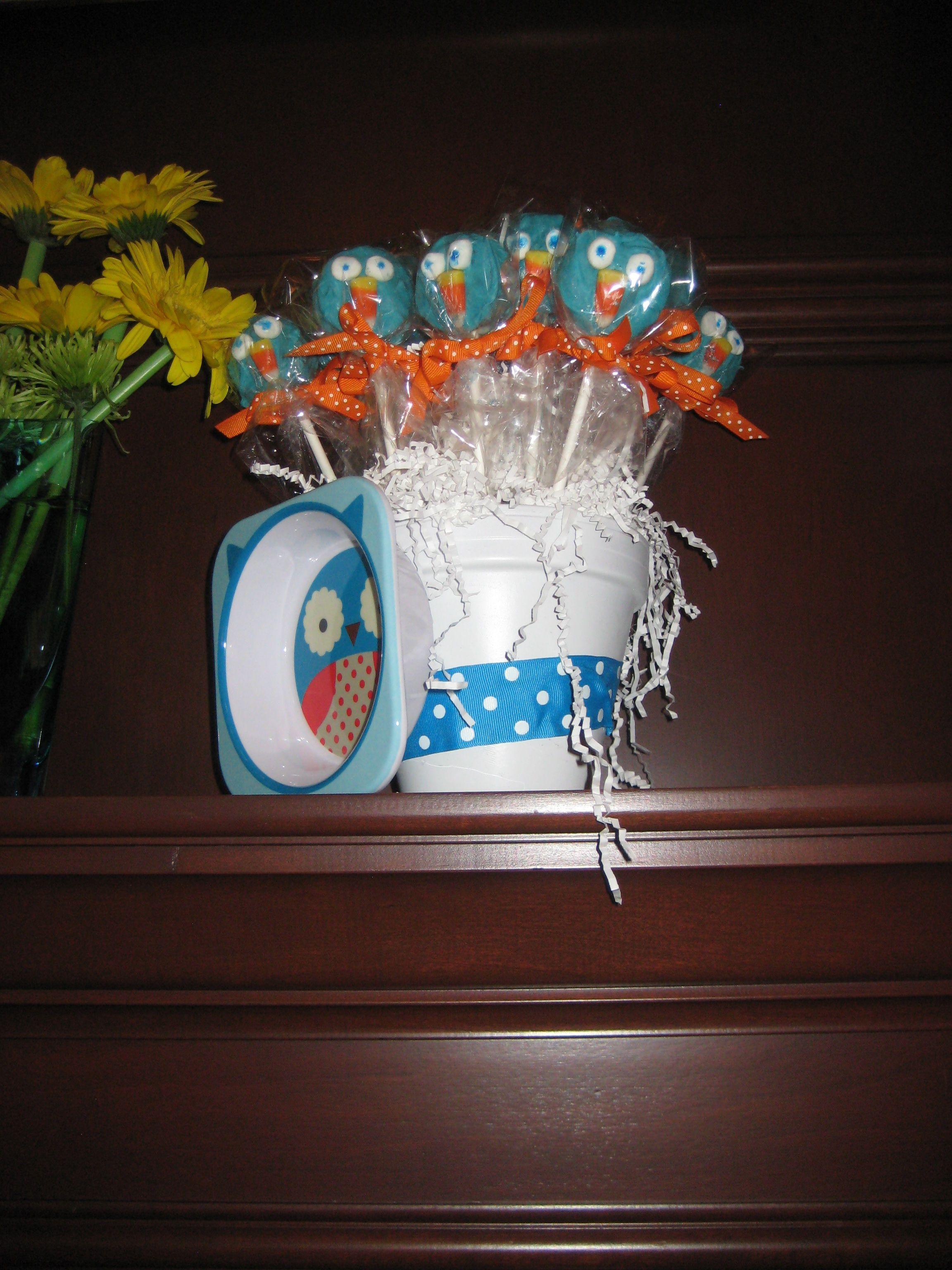 Baby Showers Reading ~ Owl baby shower pops books worth reading pinterest