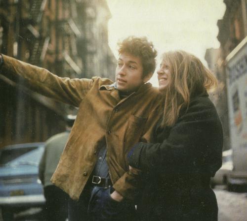 Bob Dylan, Freewheelin' album alt. coverphoto