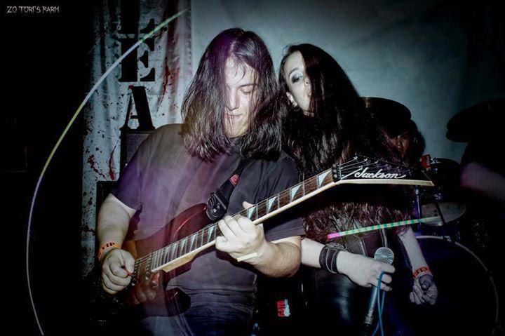 Nathalie Markoch live at Nuclear Bar http://on.fb.me/120ZOQX #metal #peru #nmk
