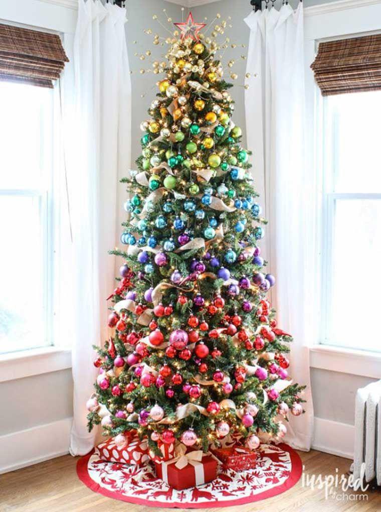 De Kerstboom Versieren 10 Toffe En Originele Bomen Lady Lemonade Kerst Kerstboom Versieringen Mooie Kerstbomen