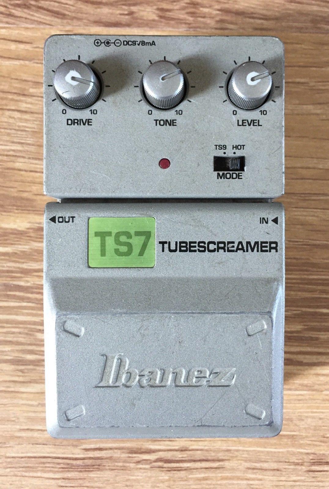 Ibanez Ts7 Tubescreamer Guitar Effects Pedal