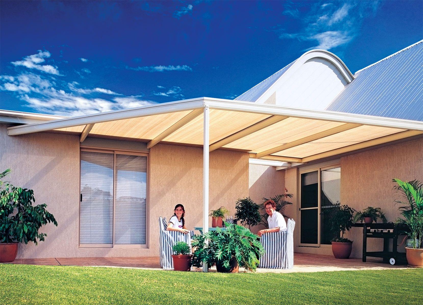 Outback Pergola Outdoor patio designs, Pergola, Steel