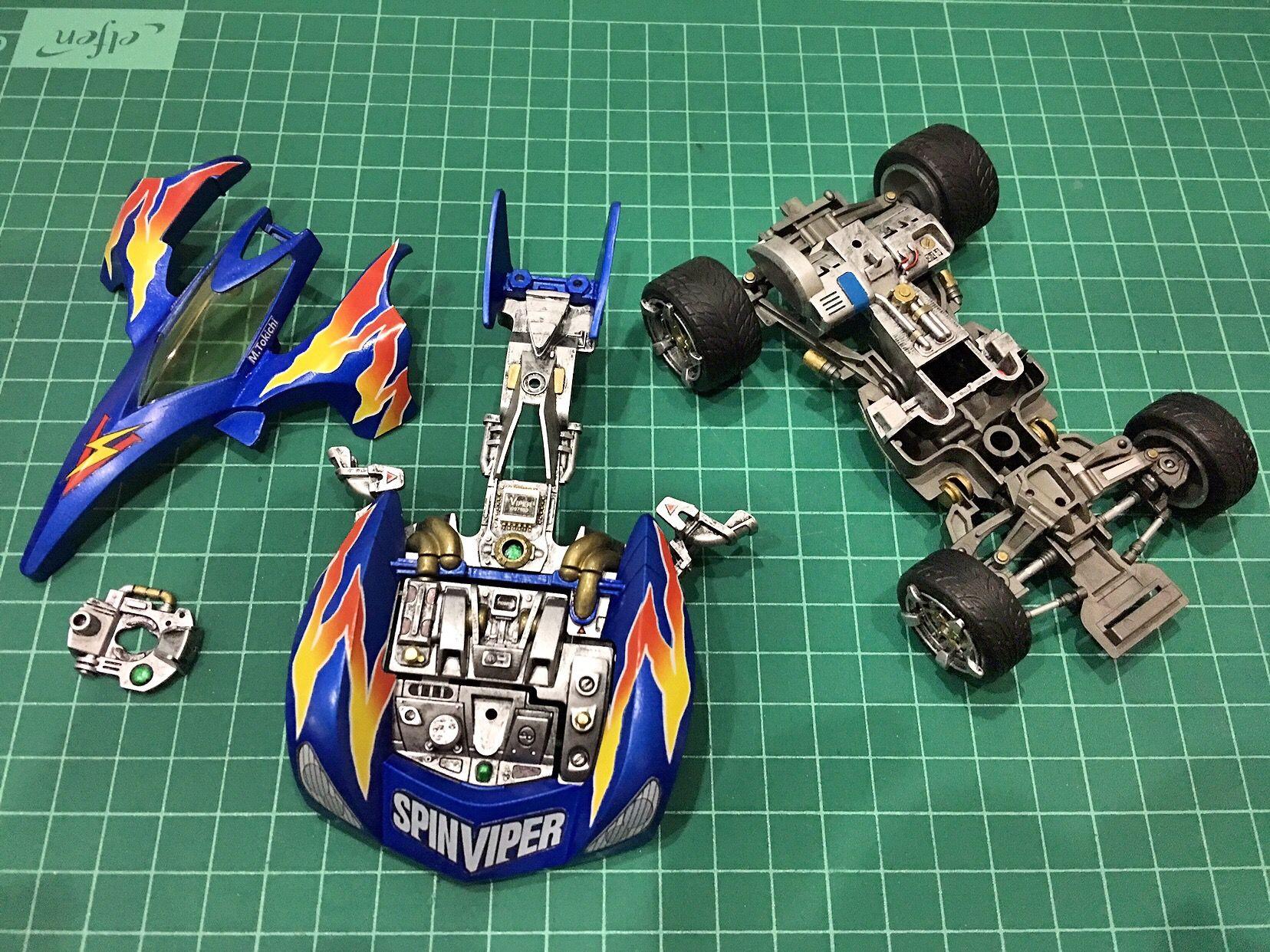 Tamiya Spin Viper Mechanical Series ミニ四駆 四駆 ミニ