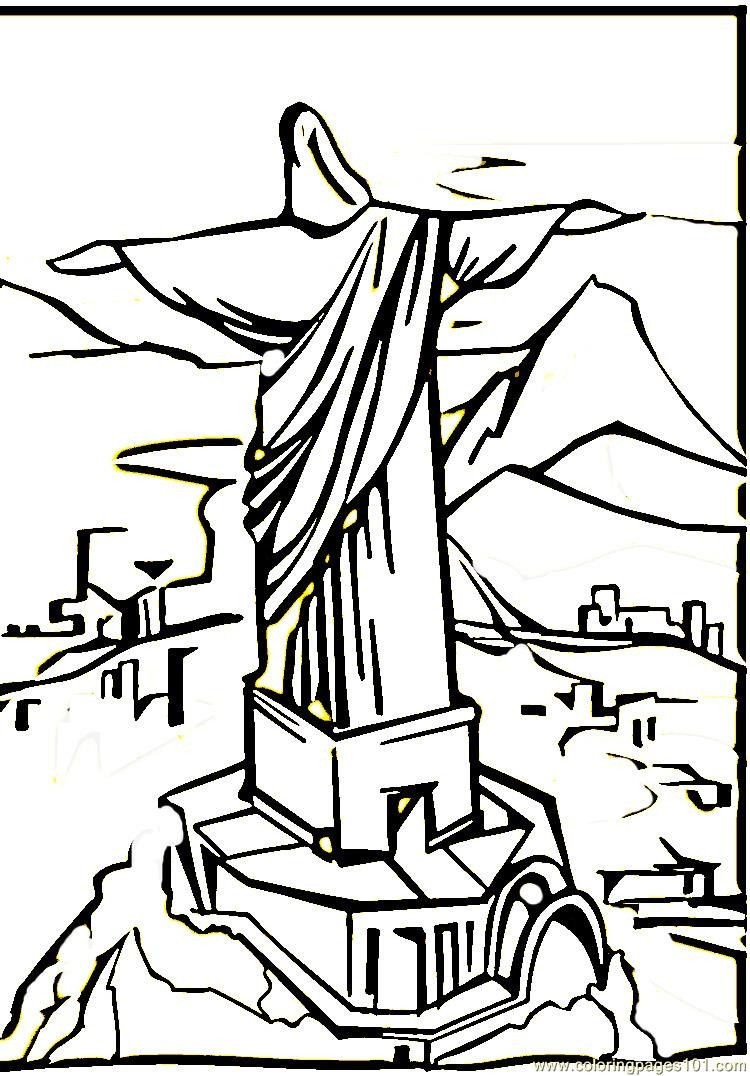 10 Images Of Brazil Coloring Pages Brazil Coloring Images