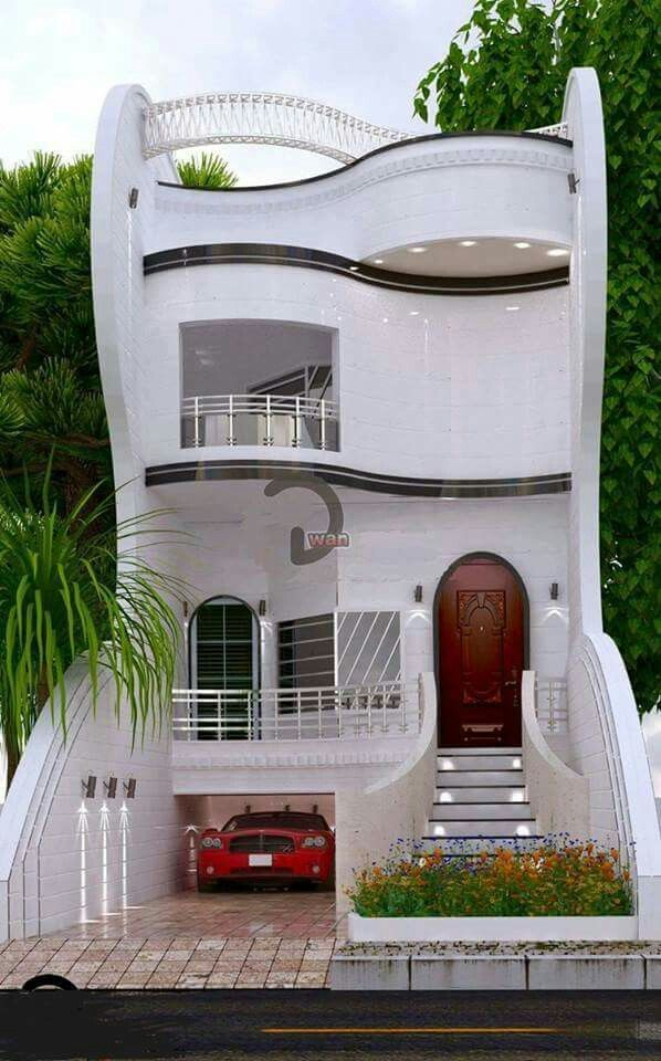 Fcb Modern Unique House Design 4 Bedrooms W Private Guest