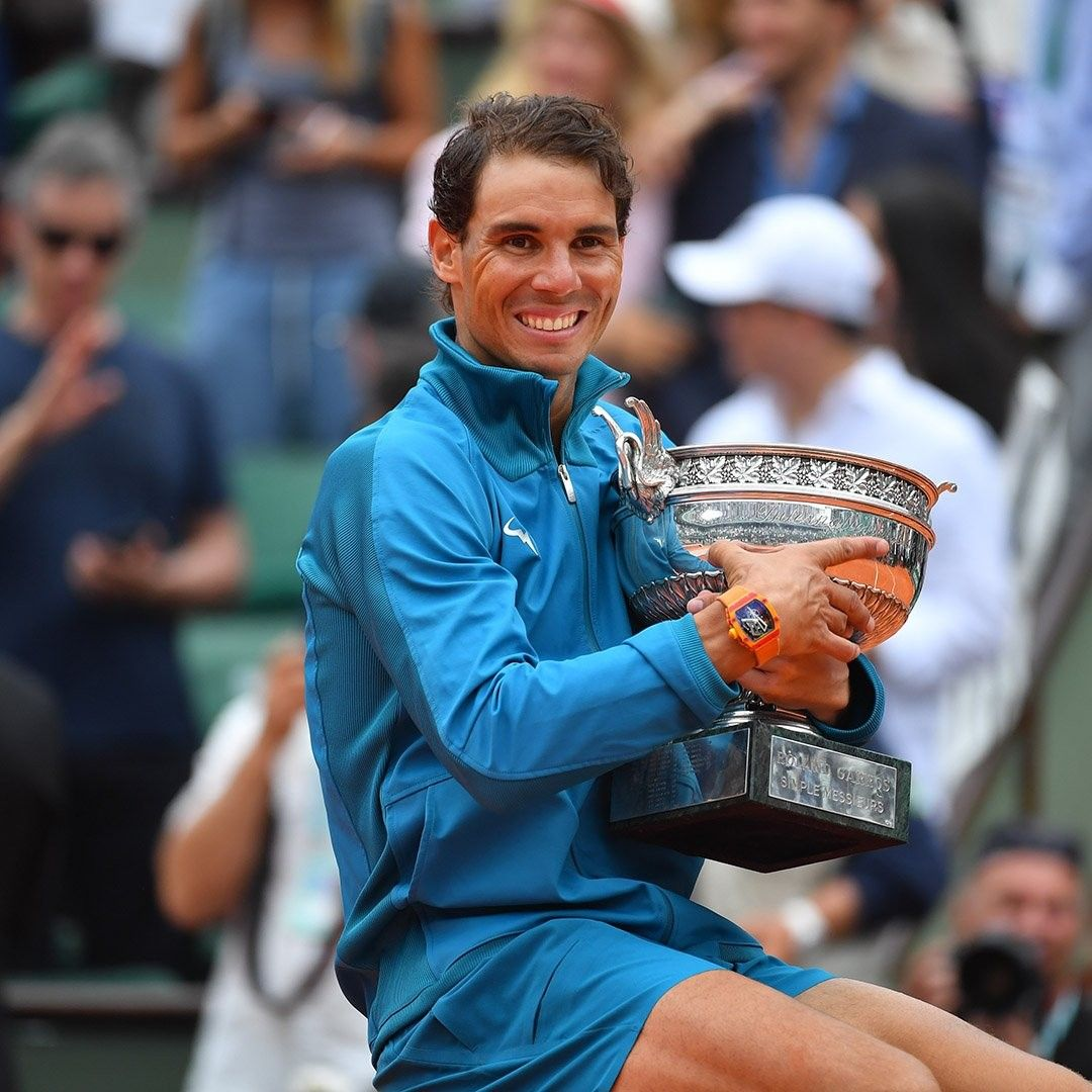 Rafa Nadal Wins Roland Garros 2018 Rafael Nadal Rafa Nadal Roland Garros