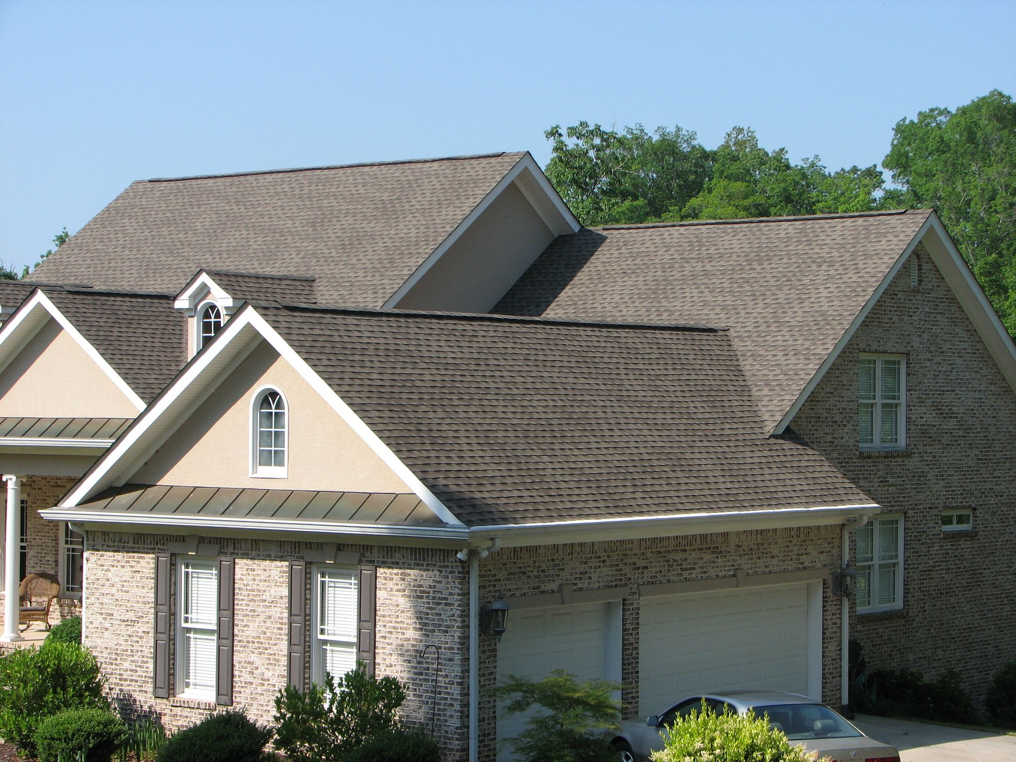 Best Gaf Timberline Hd In Weathered Wood 2561 Roof Exterior 640 x 480