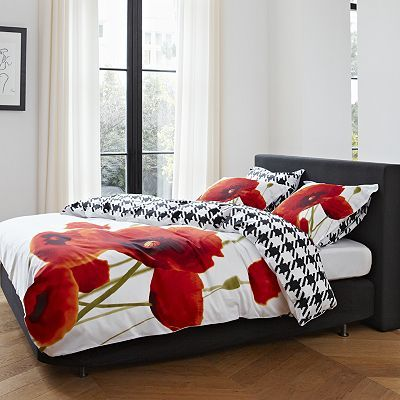 Essenza Mary Poppy Bedding Coordinates Comforter Sets