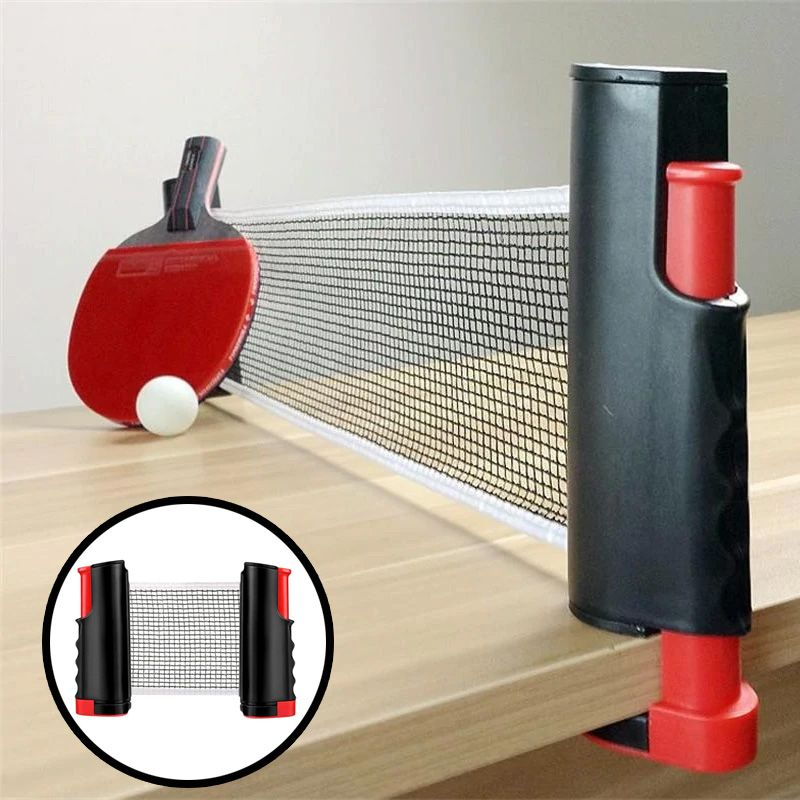Portable Ping Pong Table Tennis Net And Post Set Various Colors In 2020 Portable Ping Pong Table Ping Pong Table Tennis Table Tennis Net