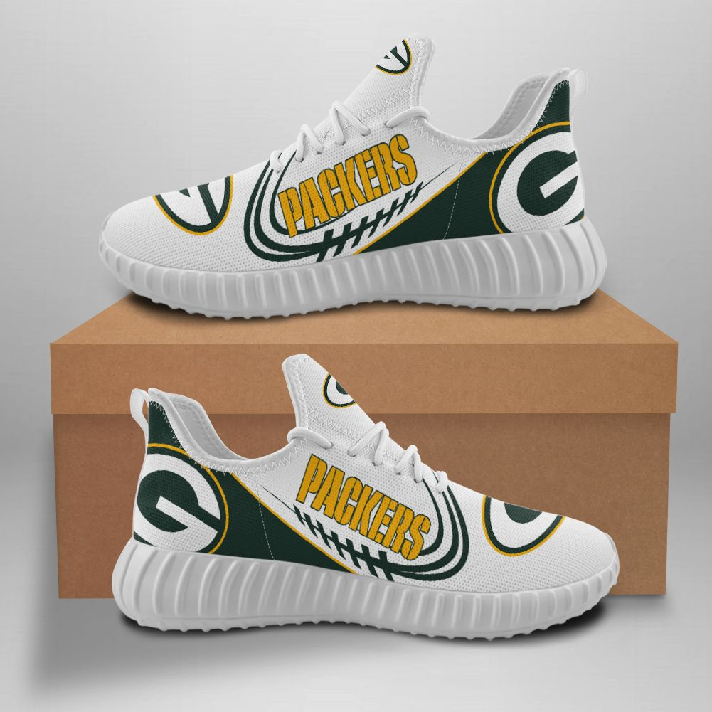 Green Bay Packers shoes Customize Sneakers Yeezy Shoes for