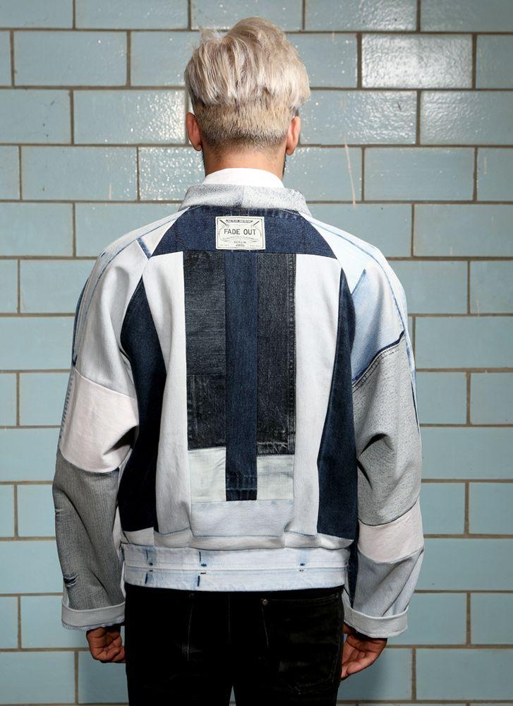 ARTIC Bomber Jacket – light blue   FADE OUT Label