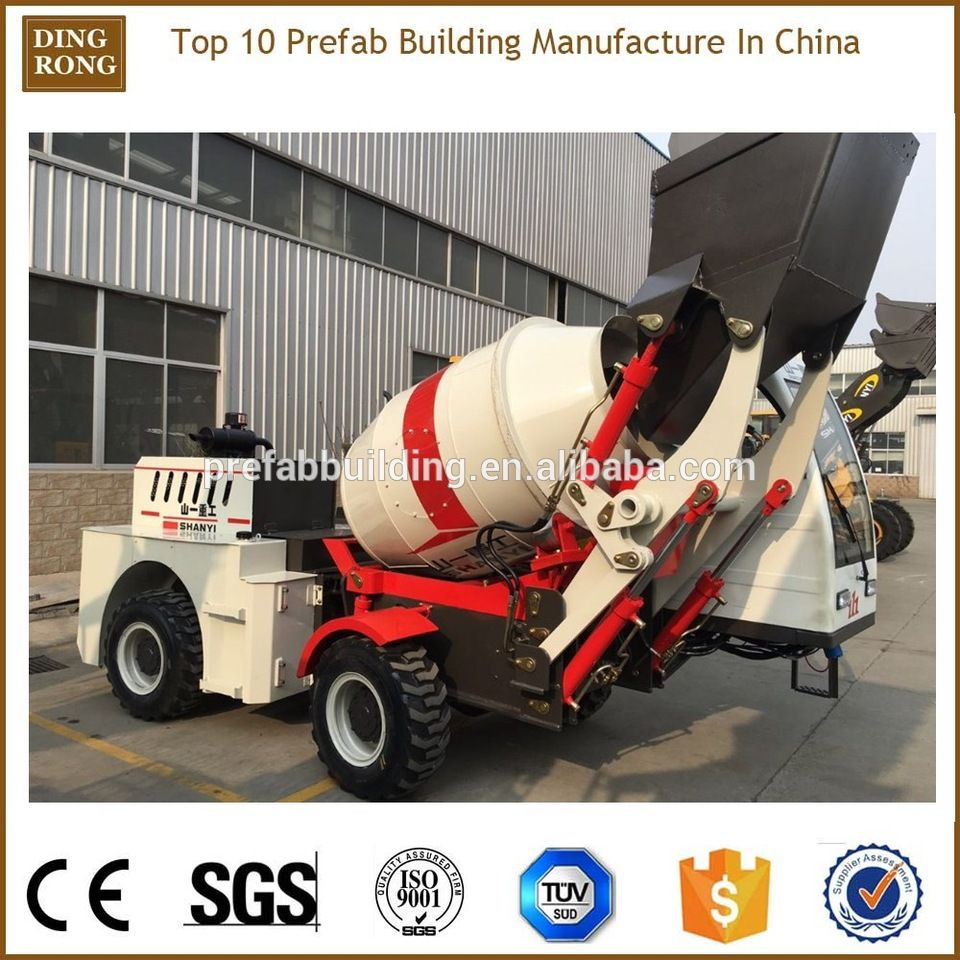 ajax self loader mobile concrete mixer for sale on olx