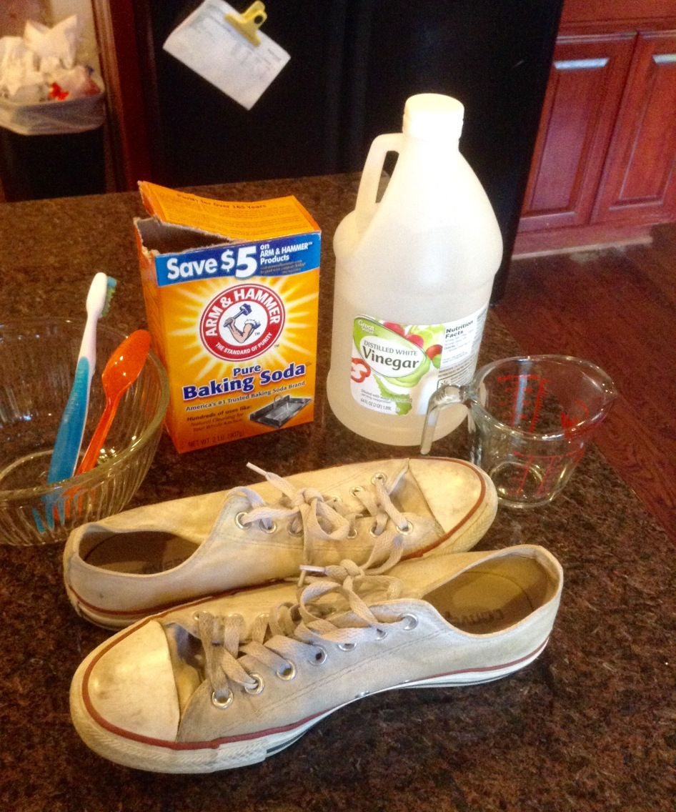 How to make your white converse look new again white