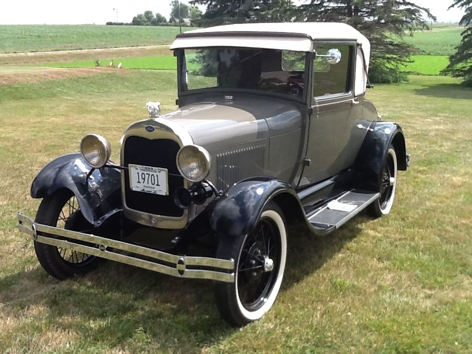 1928 Ford Model A Sport Coupe with Rumble Seat