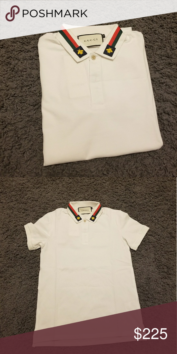 Gucci shirt New Gucci polo size L slim fit fits like a medium. Gucci Shirts Polos