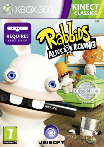 Rabbids: Alive and Kicking - Kinect Required (Xbox 360