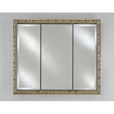 Charlton Home Holdrege Recessed Framed Medicine Cabinet With 9