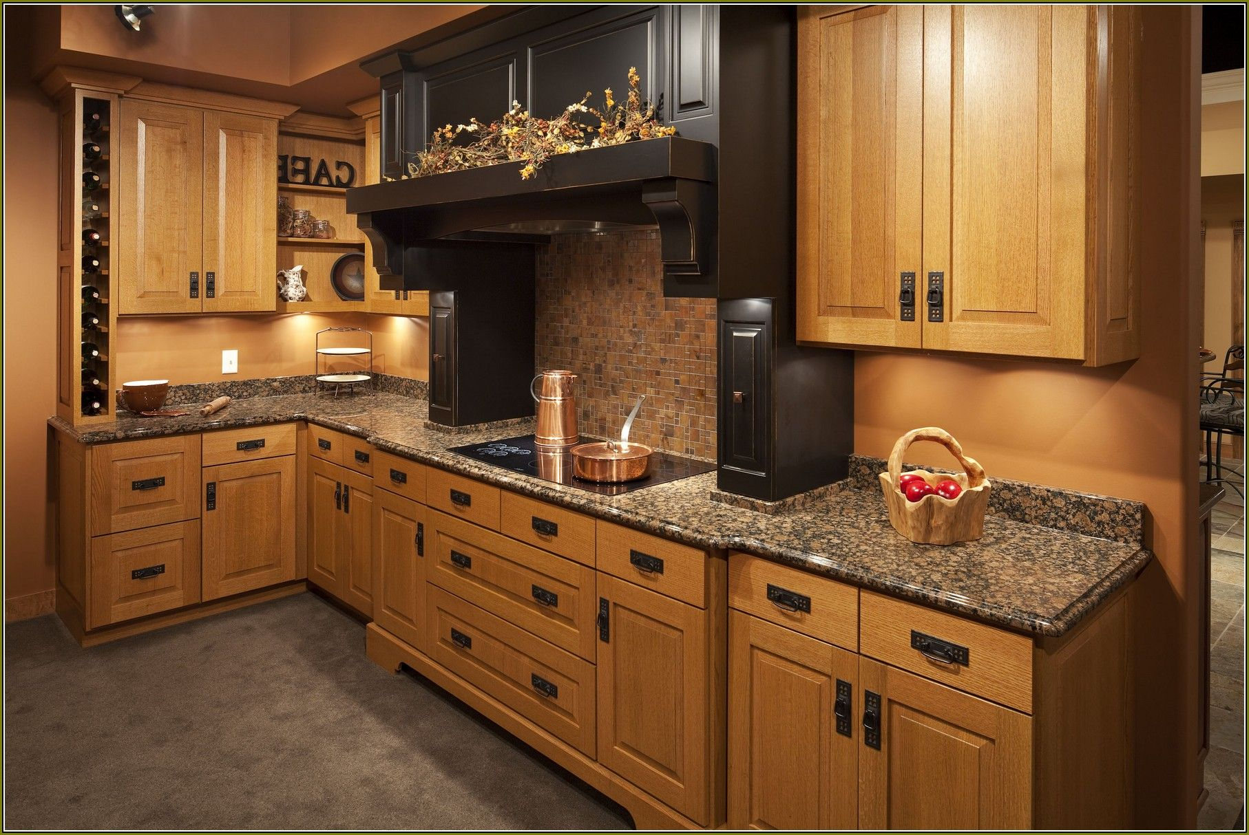 Cherry Kitchen Cabinet Doors Mission Style Kitchen Cabinet Doors Kitchen Remodel Ideas